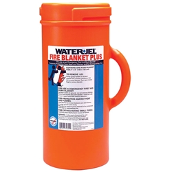 Water-Jel® Fire Blanket In A Canister