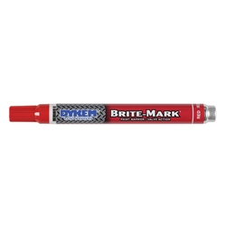 84006DY ITW ProBrands™ Brite-Mark® Permanent Paint Markers, Medium Tip, Red, 12/Case
