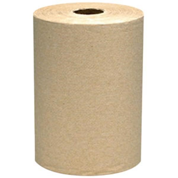 "VonDrehle® Preserve® Hardwound Towels, Natural, 6 Rolls/7 7/8"" x 800 ea"