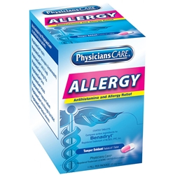 90036AC Allergy Antihistamine, 25 mg, 1 Pkg/50 ea