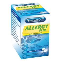 90091AC Allergy Plus Antihisamine, 2 Pkg/50 Each