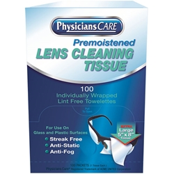 Lens Cleaning Tissues, 100/Box
