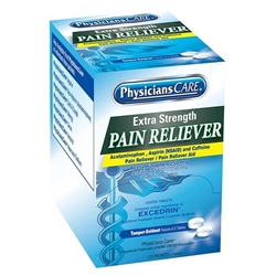 90317AC Extra-Strength Pain Reliever, 2 Pkg/125 ea