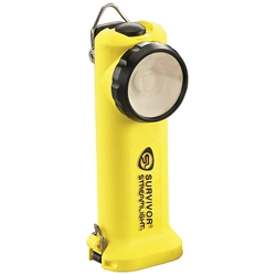 Streamlight® Survivor® LED Flashlight, AC/DC w/ Steady Charger, Yellow