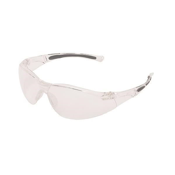 Uvex® A800 Series Eyewear, Clear Frame, Clear Lens