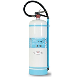 272NMAX Amerex® 2.5 gal Non-Magnetic Water Mist Fire Extinguisher w/ Brass Valve & Wall Hook
