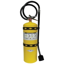 570AX Amerex® 30 lb Sodium Chloride Fire Extinguisher w/ Brass Valve & Wall Hook