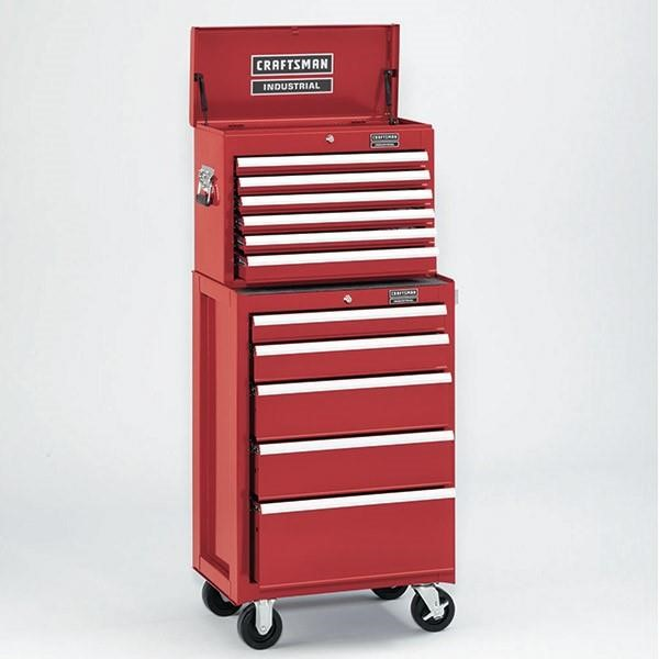 Craftsman Industrial® 3000 Series 6 Drawer Top Chest, 26""