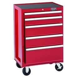 Craftsman Industrial® 3000 Series 5 Drawer Rolling Cabinet, 26""