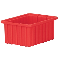 "33105REDAM Akro-Mils® Akro-Grid Dividable Grid Container, 10 7/8""L x 5""H x 8 1/4""W, Red, 1/Each"