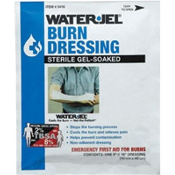 "Water-Jel® Burn Dressings, 4"" x 16"""