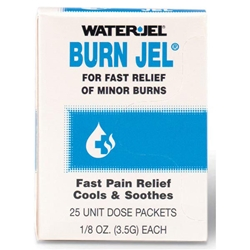 Water-Jel® Burn Jel, 3.5 g, 25/Box
