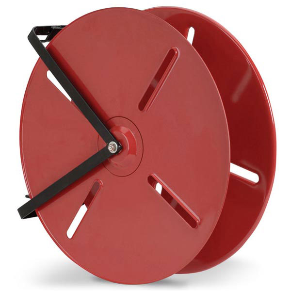"FHR24BR FireTech™ 24"" Economy Hose Reel (For 1 1/2"" Rack 150 & SJ 100 Hose), 29""L x 24""H x 6 1/4""W, Red, 1/Each"