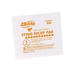Sting Relief Pads, 50/Box