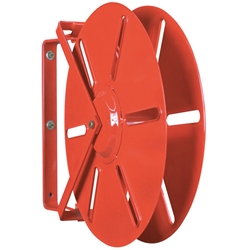 "HDR19BR FireTech™ Heavy-Duty Hose Reel (For 1 1/2"" Rack 100, SJ 75, & DJ 50 Hose), 23 3/8""L x 19""H x 5 3/4""W, Red, 1/Each"