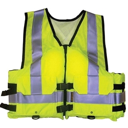 Stearns® Work Zone Gear™ Vest, ANSI, Medium, Green