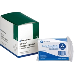 Emergency Blankets, 5/Box
