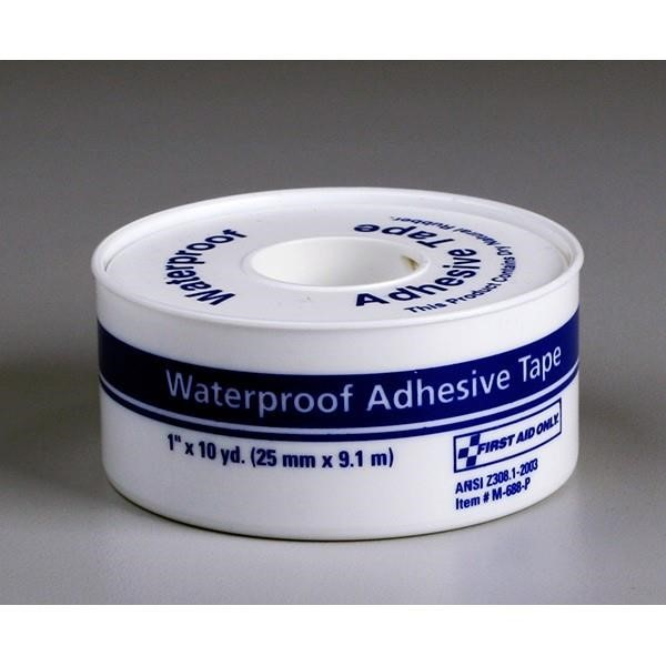 "Waterproof First Aid Tape, 1"" x 10 yd"