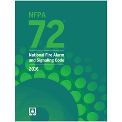 NFPA7216BR NFPA 72: National Fire Alarm & Signaling Code, 2016 ed, 1/Each