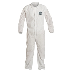 DuPont™ ProShield® 10 Coveralls w/ Open Wrists & Ankles, X-Large, White