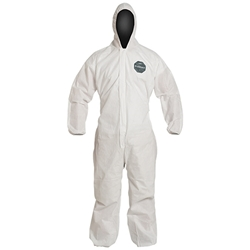 DuPont™ ProShield® 10 Coveralls w/ Hood & Elastic Wrists & Ankles, Large