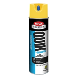 Krylon® Quik-Mark™ Inverted Marking Paint, Water Based, APWA Yellow